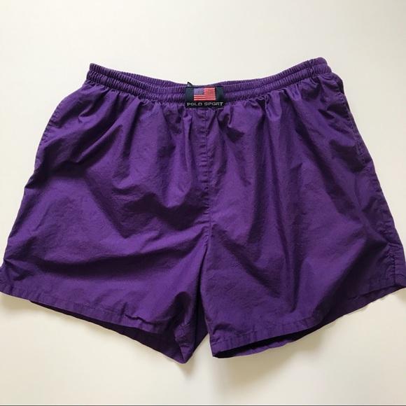 2aa270964c Vintage Swim | 90s Vtg Polo Shorts | Poshmark